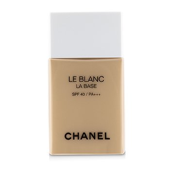 Chanel Le Blanc La Base Correcting  Brightening Makeup Base SPF 40 - # Peche