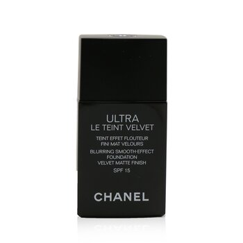 Chanel Ultra Le Teint Velvet Blurring Smooth Effect Foundation SPF 15 - # B40 (Beige)