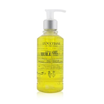 LOccitane Facial Make-Up Remover - Oil To Milk (For All Skin Types, Even Sensitive)