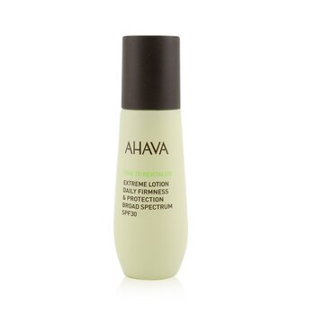 Ahava Time To Revitalize Extreme Lotion Daily Firmness & Protection SPF 30