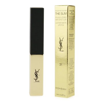 Yves Saint Laurent Rouge Pur Couture The Slim Leather Matte Lipstick - # 31 Inflammatory Nude