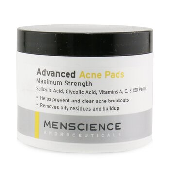 Menscience Advanced Acne Pads (Exp. Date 12/2020)