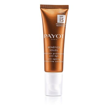 Payot Anti-aging opalovací emulze Benefice Soleil Anti-Aging Protective Emulsion SPF 15 UVA/UVB
