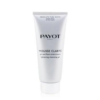 Payot Zesvětlující pěnivý gel Absolute Pure White Mousse Clarte Lightening Cleansing Gel