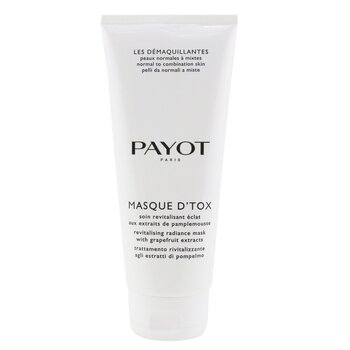 Payot Detoxikační maska pro normální až smíšenou pokožku Les Demaquillantes Masque DTox Detoxifying Radiance Mask - For Normal To Combination Skins (salonní velikost)