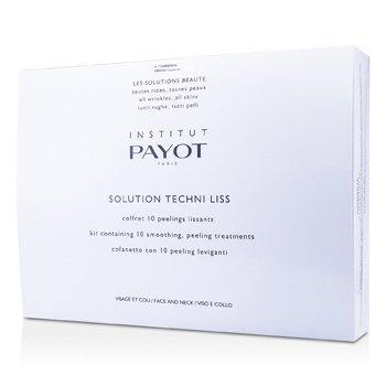 Payot Peeling pro vyhlazení obličeje a krku Solution Techni Liss - Smoothing & Peeling Treatments For Face & Neck (salonní produkt)