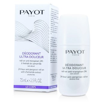 Payot 24 hodinový antiperspirant roll-on Le Corps Deodorant Ultra Douceur - 24-Hour Anti-Perspirant Roll-On (bez alkoholu)