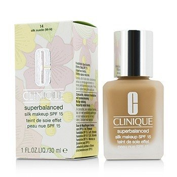 Clinique Superbalanced Silk Makeup SPF 15 - # 14 Silk Suede (M-N)