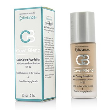 Exuviance CoverBlend Skin Caring Foundation SPF20 - # Neutral Beige