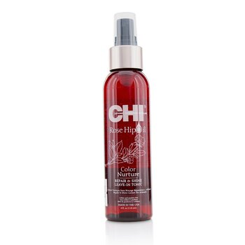 CHI Rose Hip Oil Color Nurture Repair & Shine Leave-In Tonic
