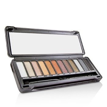 BYS Eyeshadow Palette (12x Eyeshadow, 2x Applicator) - Metals