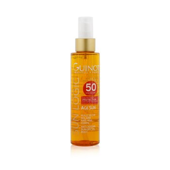 Sun Logic Age Sun Anti-Ageing Sun Dry Oil For Body SPF 50
