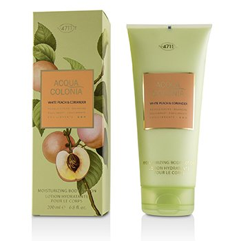 4711 Acqua Colonia White Peach & Coriander Moisturizing Body Lotion