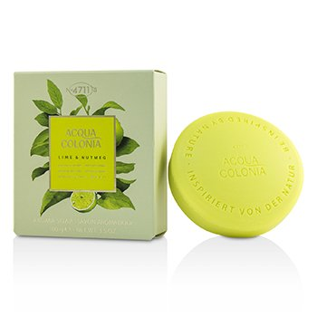 4711 Acqua Colonia Lime & Nutmeg Aroma Soap