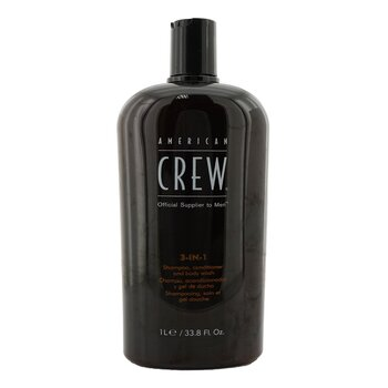 American Crew Šampon, kondicionér a sprchový gel 3 v 1 pro muže Men 3 in 1 Shampoo, Conditioner & Body Wash