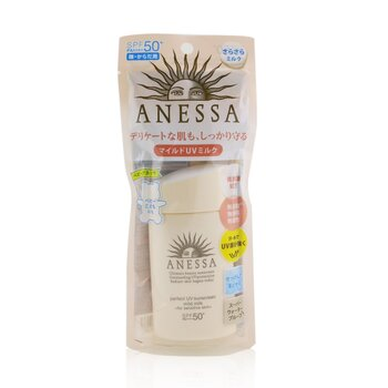 Shiseido Anessa Perfect UV Sunscreen Mild Milk SPF 50+ (For Sensitive Skin)