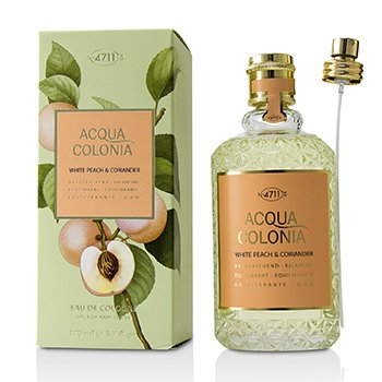 4711 Acqua Colonia White Peach & Coriander Eau De Cologne Spray