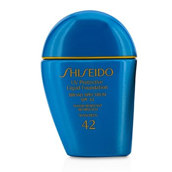 Shiseido UV Protective Liquid Foundation SPF42 - # Dark Beige (Unboxed)