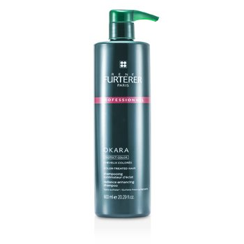 Rene Furterer Šampon pro barvené vlasy Okara Radiance Enhancing Shampoo - For Color-Treated Hair (salonní produkt)