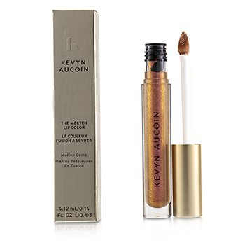 Kevyn Aucoin The Molten Lip Color Molten Gems - # Fire Amber