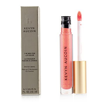 Kevyn Aucoin The Molten Lip Color Molten Gems - # Poppy Topaz