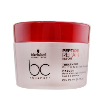 Schwarzkopf BC Bonacure Peptide Repair Rescue Treatment (For Fine to Normal Damaged Hair)