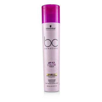 Schwarzkopf BC Bonacure pH 4.5 Color Freeze Gold Shimmer Micellar Shampoo (For Gold Hair)