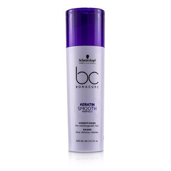 Schwarzkopf BC Bonacure Keratin Smooth Perfect Conditioner (For Unmanageable Hair)