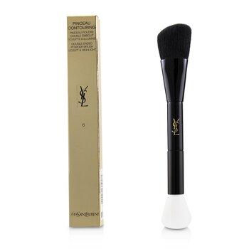 Yves Saint Laurent Pinceau Contouring Double Ended Powder Brush (Sculpt & Highlight) 6