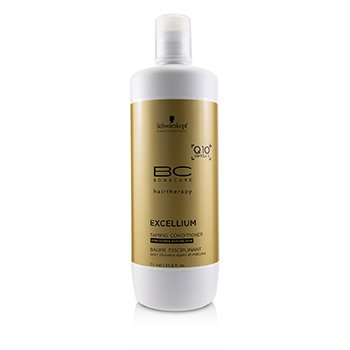 Schwarzkopf BC Excellium Q10+ Omega 3 Taming Conditioner (For Coarse Mature Hair)