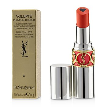 Yves Saint Laurent Volupt Plump In Colour Lip Balm - # 04 Exposing Coral (True Coral)