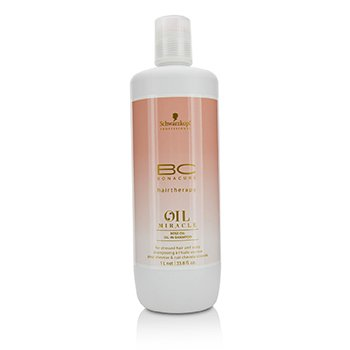 Schwarzkopf BC Oil Miracle Rose Oil Oil-In-Shampoo - For Stressed Hair and Scalp (Exp. Date: 10/2019)