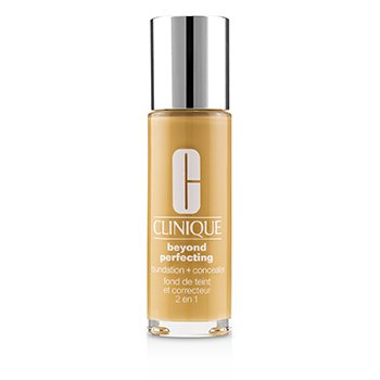Clinique Beyond Perfecting Foundation & Concealer - # 10 Honey Wheat (MF-G)