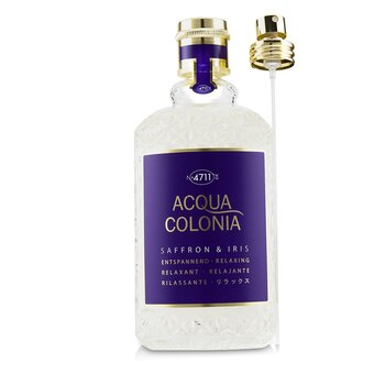 4711 Acqua Colonia Saffron & Iris Eau De Cologne Spray
