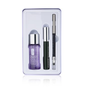 Clinique Jet Set Liftoff Lashes: Quickliner 0.28g + Take The Day Off Remover 50ml +High Impact Mascara 7ml