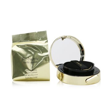 Estee Lauder Re Nutriv Ultra Radiance Serum Cushion SPF 40 with Extra Refill - # 2C0 Cool Vanilla