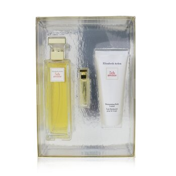 Elizabeth Arden 5th Avenue Coffret: Eau De Parfum Spray 125ml + Eau De Parfum 3.7ml + Body Lotion 100ml