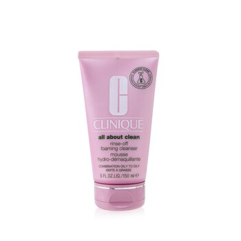 Clinique All About Clean Rinse-Off Foaming Cleanser - For Combination Oily to Oily Skin