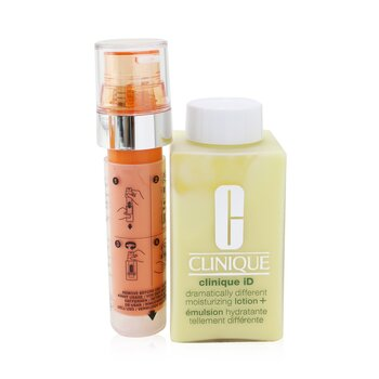 Clinique Clinique iD Dramatically Different Moisturizing Lotion+ + Active Cartridge Concentrate For Fatigue