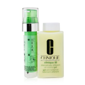 Clinique Clinique iD Dramatically Different Oil-Control Gel + Active Cartridge Concentrate For Delicate Skin