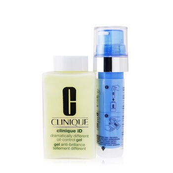 Clinique Clinique iD Dramatically Different Oil-Control Gel + Active Cartridge Concentrate For Uneven Skin Texture