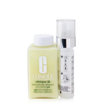 Clinique Clinique iD Dramatically Different Oil-Control Gel + Active Cartridge Concentrate For Uneven Skin Tone