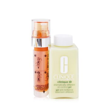 Clinique Clinique iD Dramatically Different Oil-Control Gel + Active Cartridge Concentrate For Fatigue