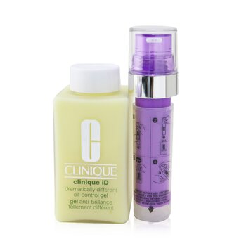 Clinique Clinique iD Dramatically Different Oil-Control Gel + Active Cartridge Concentrate For De-Aging