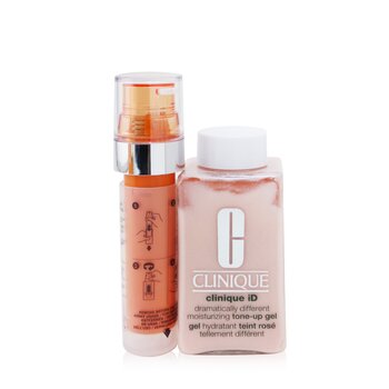 Clinique Clinique iD Dramatically Different Tone-Up Gel + Active Cartridge Concentrate For Fatigue