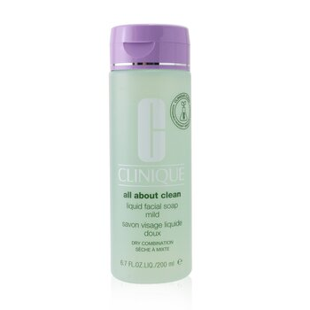 Clinique All About Clean Liquid Facial Soap Mild - Dry Combination Skin