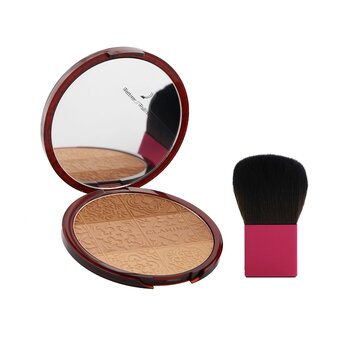 Clarins Bronzing Compact Set (1x Bronzing Compact, 1x Brush, 1x Pouch)
