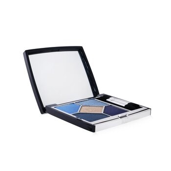 Christian Dior 5 Couleurs Couture Long Wear Creamy Powder Eyeshadow Palette - # 279 Denim