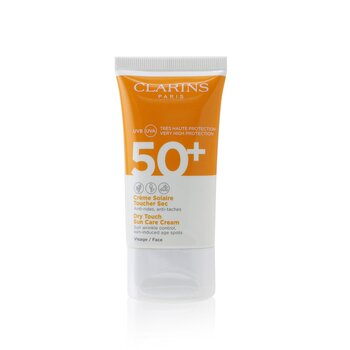 Clarins Dry Touch Sun Care Cream For Face SPF 50 (Unboxed)