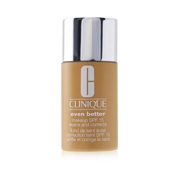 Clinique Even Better Makeup SPF15 (Dry Combination to Combination Oily) - WN 68 Brulee